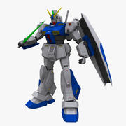 Gundam Alex NT-1 3d model
