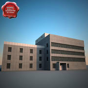 Edificio industriale 3d model