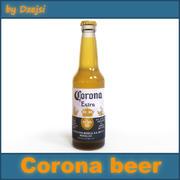 Birra alla corona 3d model