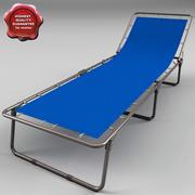 折りたたみベッド 3d model