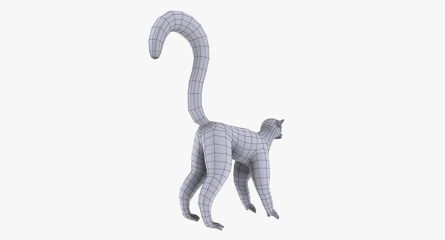 Lemur royalty-free 3d model - Preview no. 11