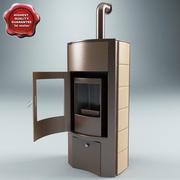 Fireplace V2 3d model