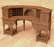 Writing Desk 3d model