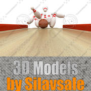 Bowlind Strike 3d model