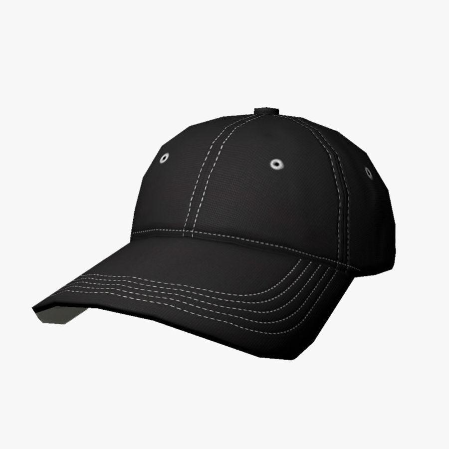 Cap Black royalty-free 3d model - Preview no. 1