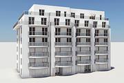 住宅複合要素01 3d model