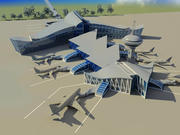 Aéroport 3d model