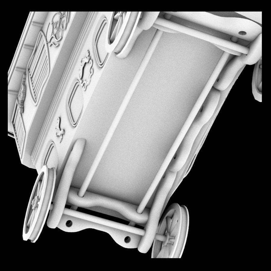 Caravan royalty-free 3d model - Preview no. 9