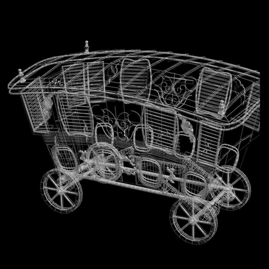 Husvagn royalty-free 3d model - Preview no. 10