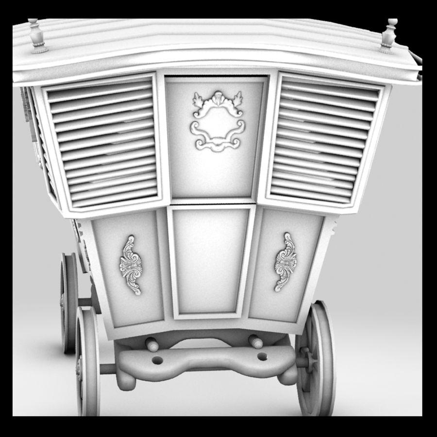Caravan royalty-free 3d model - Preview no. 6