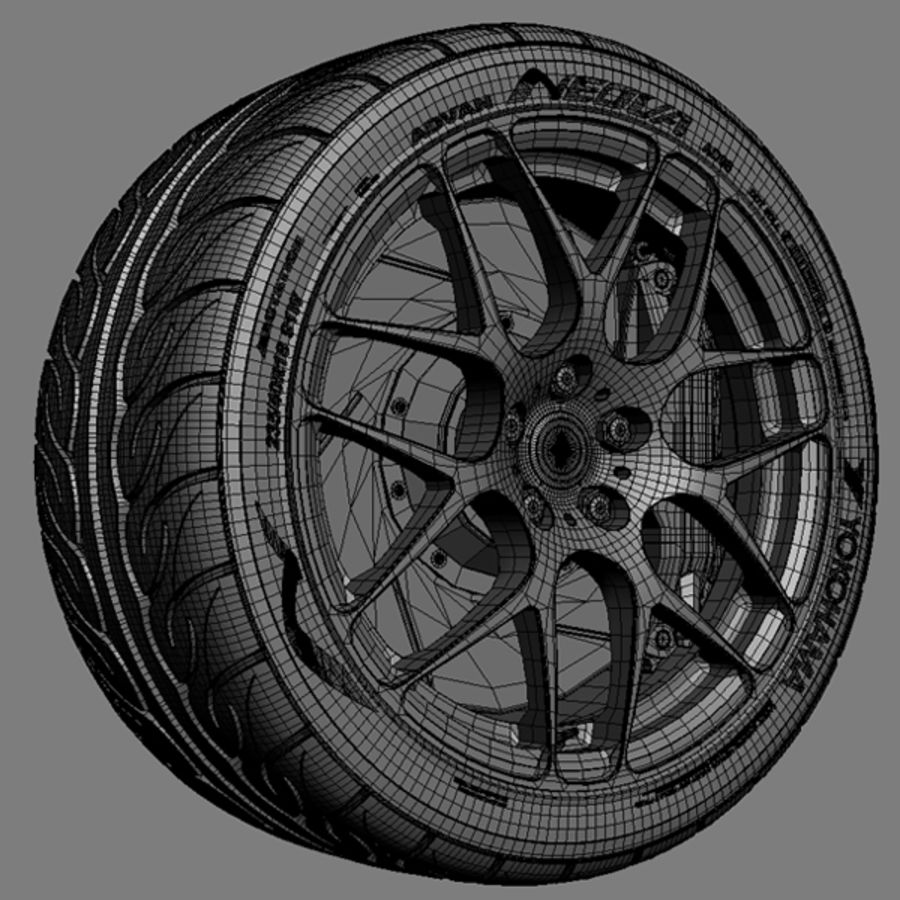 HRE P40 royalty-free 3d model - Preview no. 6