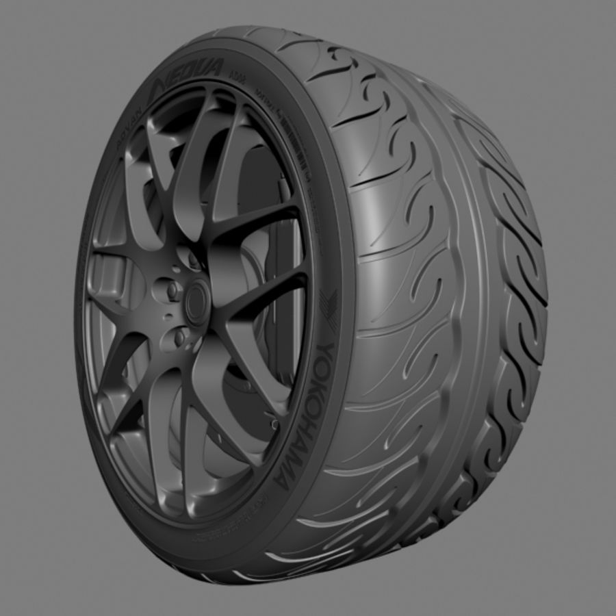 HRE P40 royalty-free 3d model - Preview no. 5