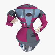 Robot Model 9 3d model
