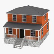 US house5 3d model