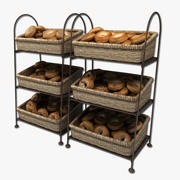 bagel display 3d model