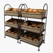 présentoir à bagels 3d model