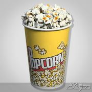 PopCorn 1 3d model