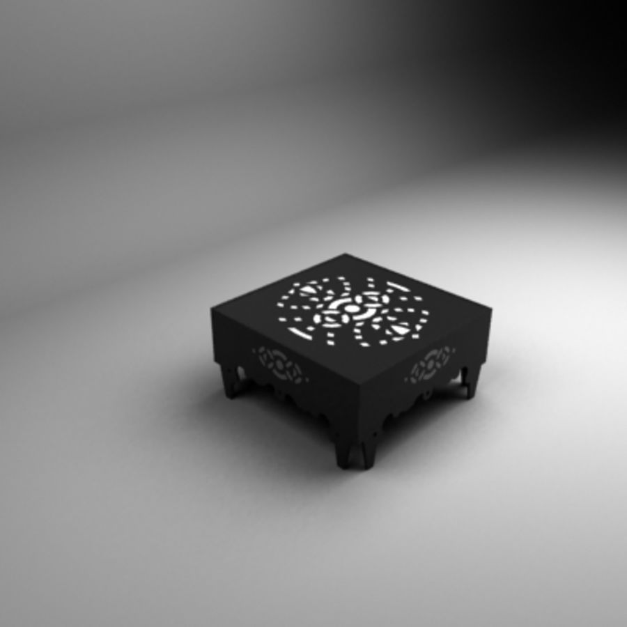 Litet bord royalty-free 3d model - Preview no. 1
