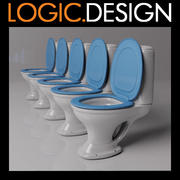 Toalett 3d model