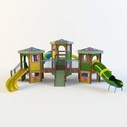 Barns glidbana 3d model