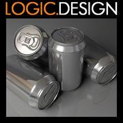 Canette de boisson 3d model