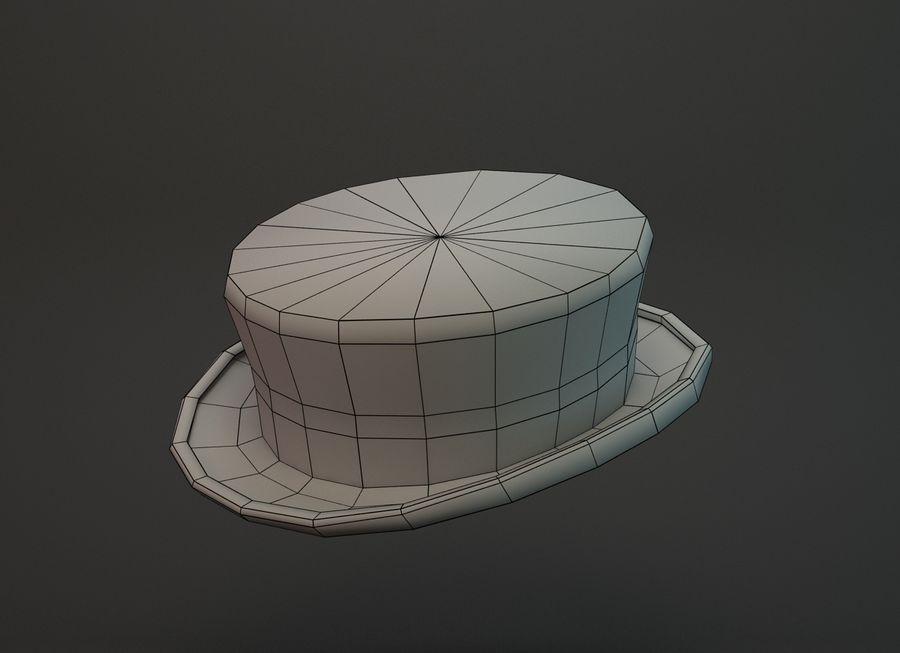 帽子 royalty-free 3d model - Preview no. 2