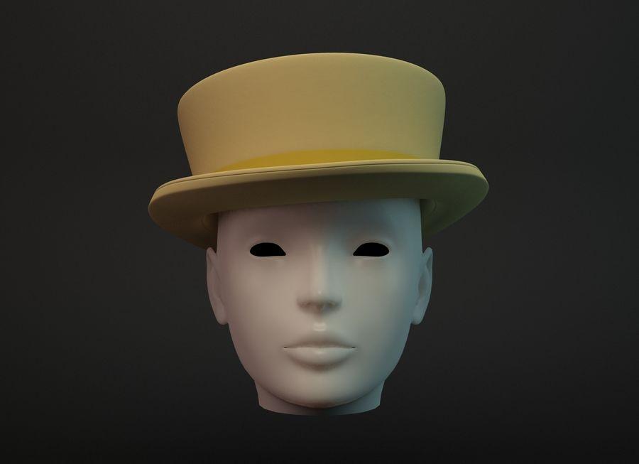 帽子 royalty-free 3d model - Preview no. 3