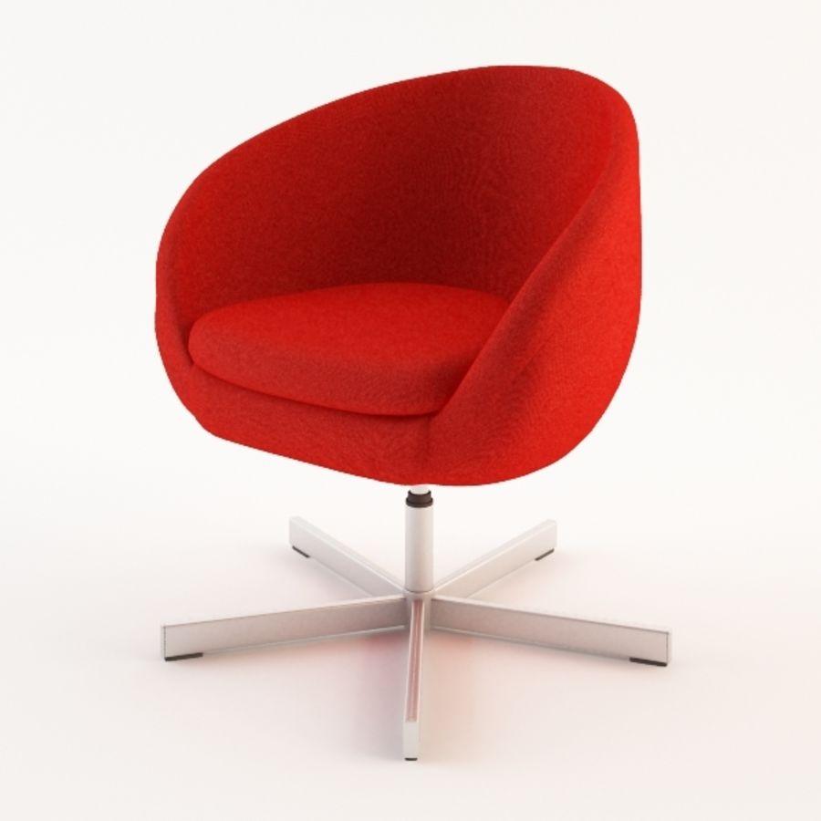 Ikea Skruvsta Draaifauteuil.Ikea Skruvsta Fauteuil Modele 3d 15 3ds Obj Fbx Max Free3d