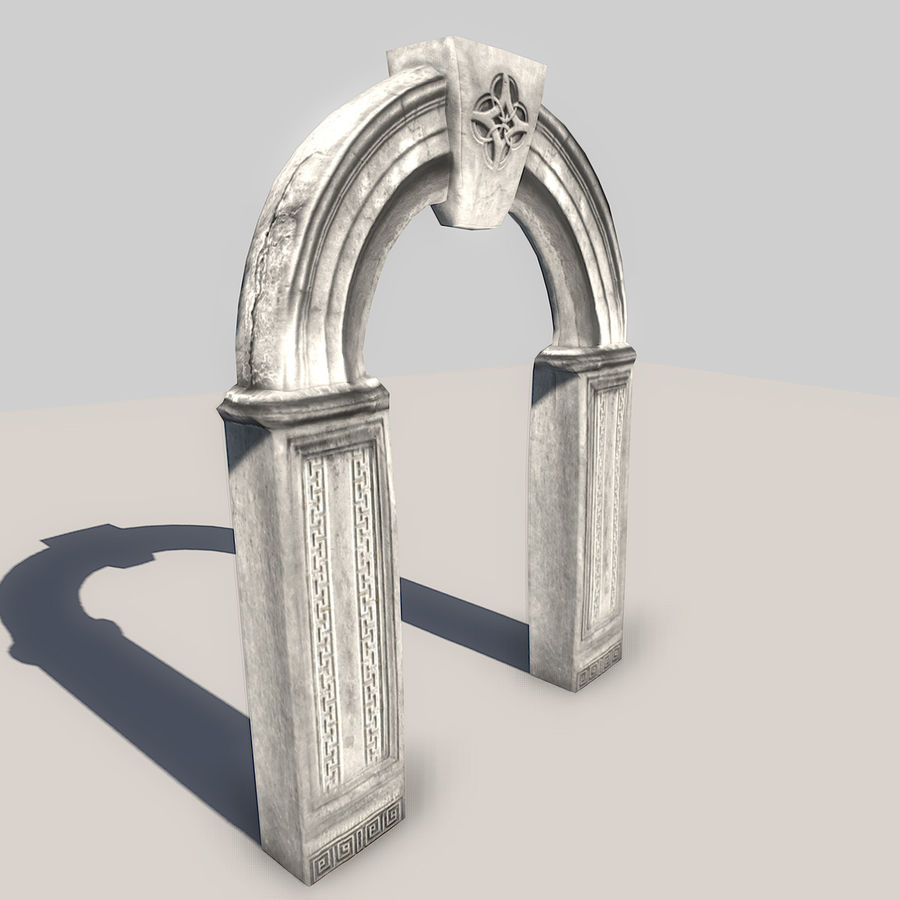 Stone Arch royalty-free 3d model - Preview no. 1