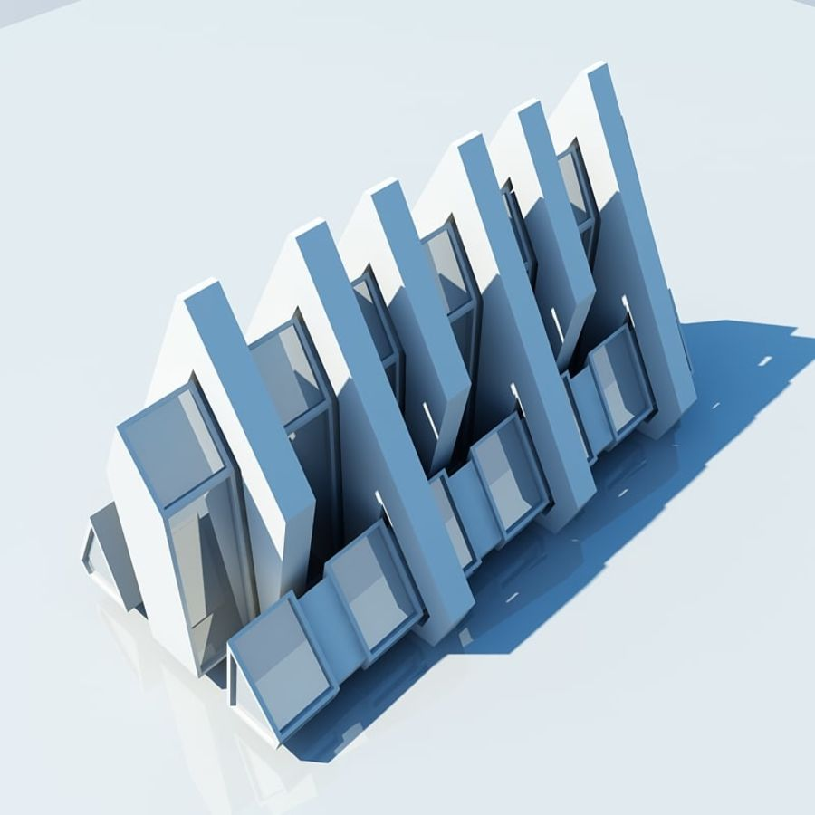 Architecture 005 royalty-free 3d model - Preview no. 6