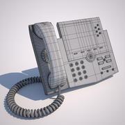 電話 3d model