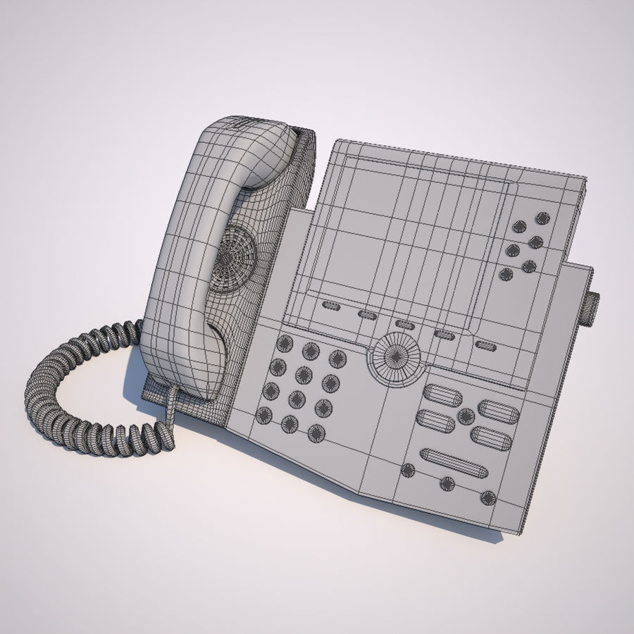 Phone royalty-free 3d model - Preview no. 4