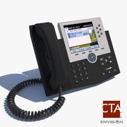 전화 3d model