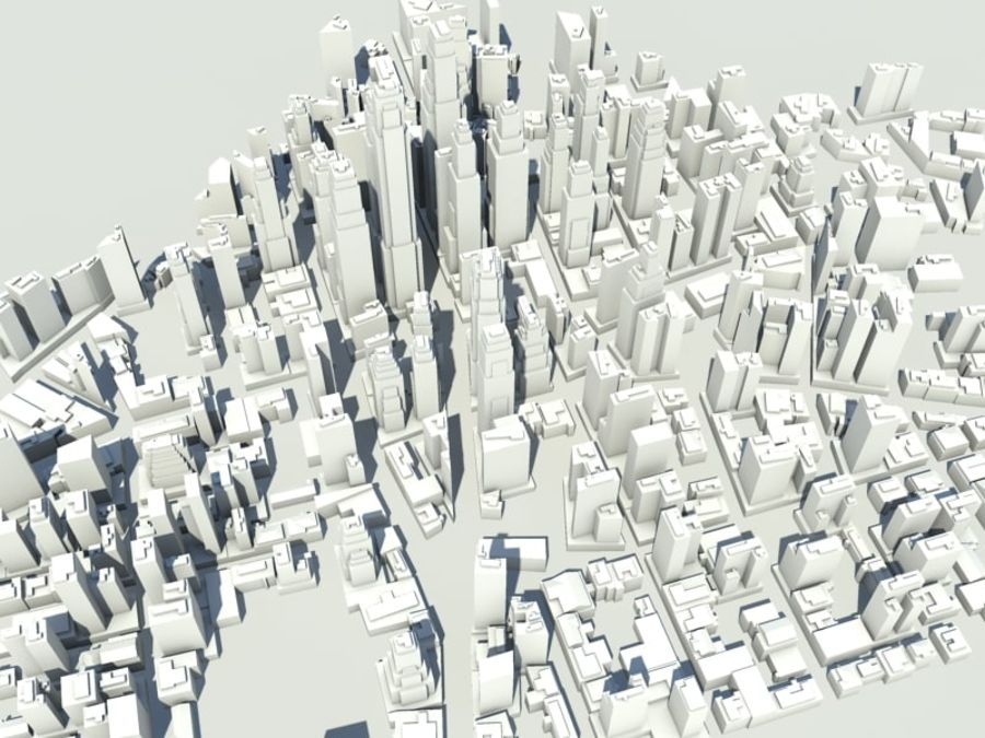Ciudad royalty-free modelo 3d - Preview no. 6