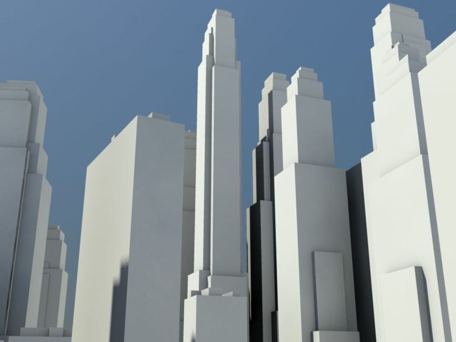 Ciudad royalty-free modelo 3d - Preview no. 8
