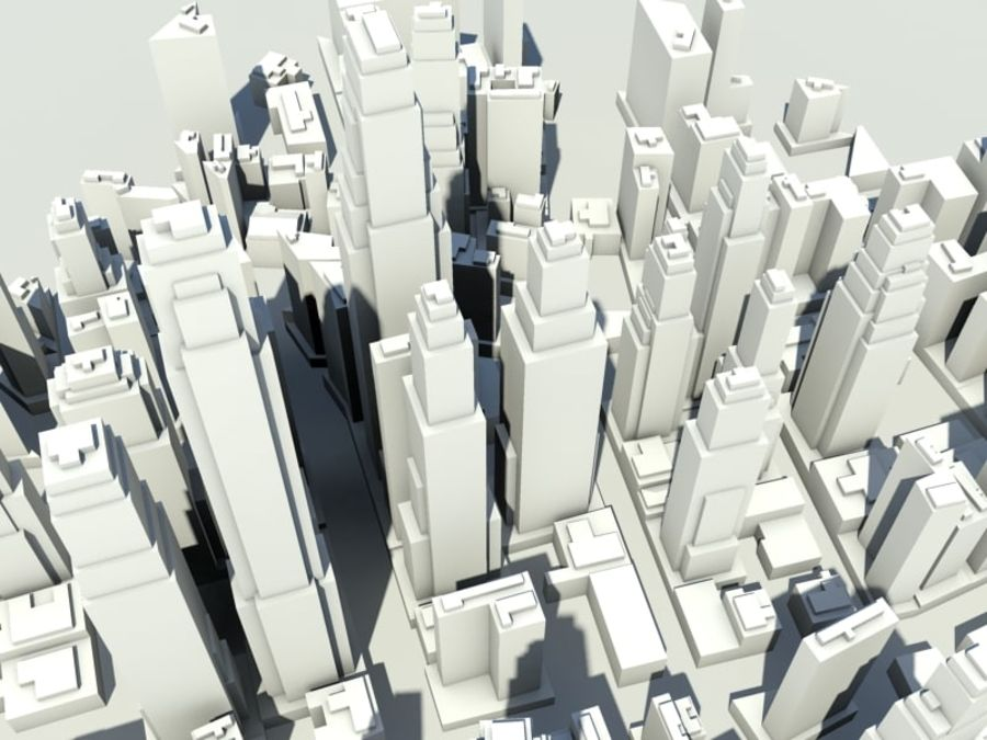 Ciudad royalty-free modelo 3d - Preview no. 3