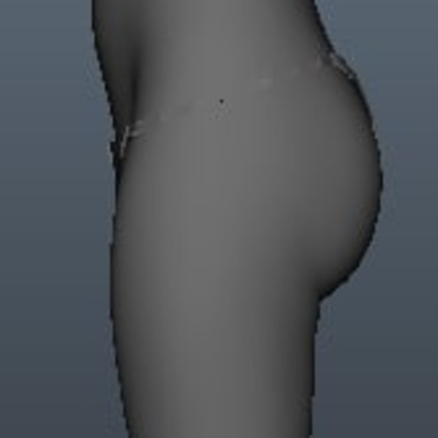 Female model royalty-free 3d model - Preview no. 5