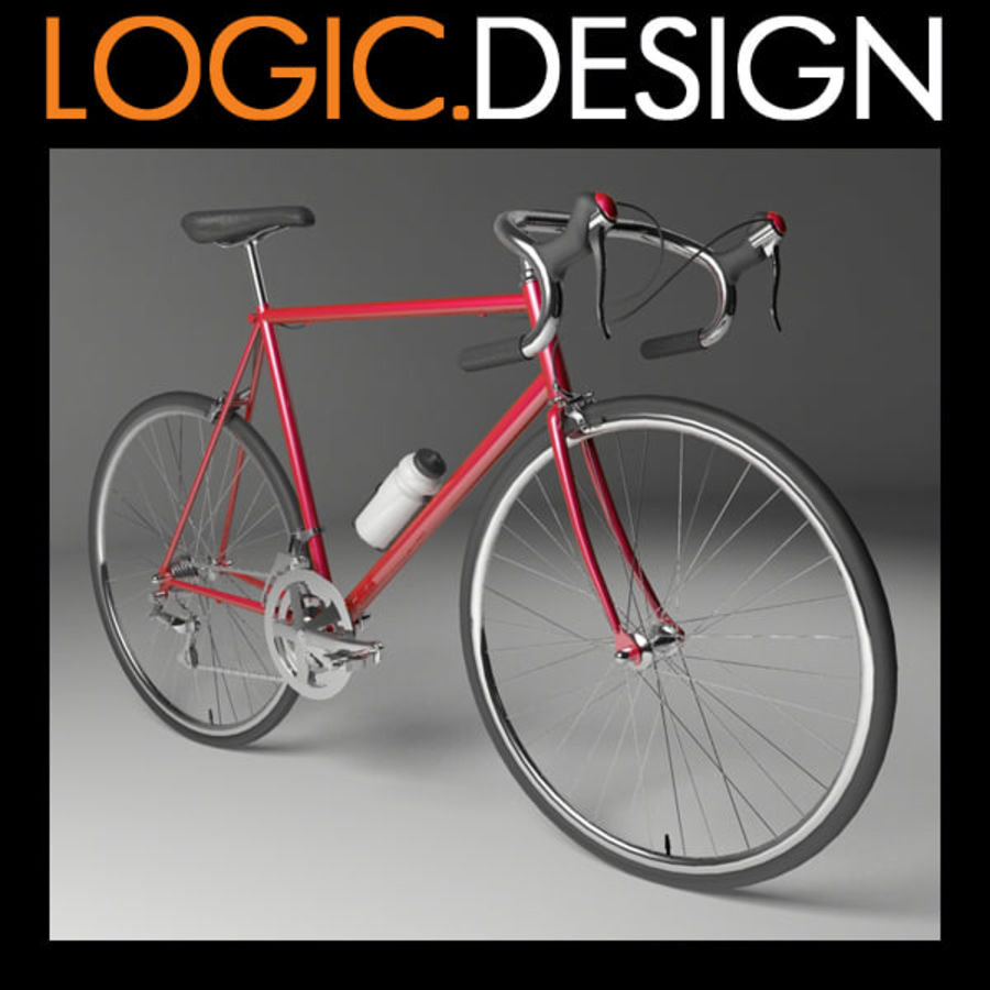 Racing Bicycle royalty-free 3d model - Preview no. 1
