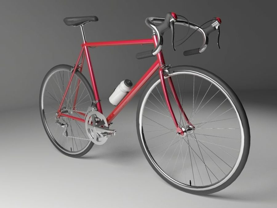 Racing Bicycle royalty-free 3d model - Preview no. 2