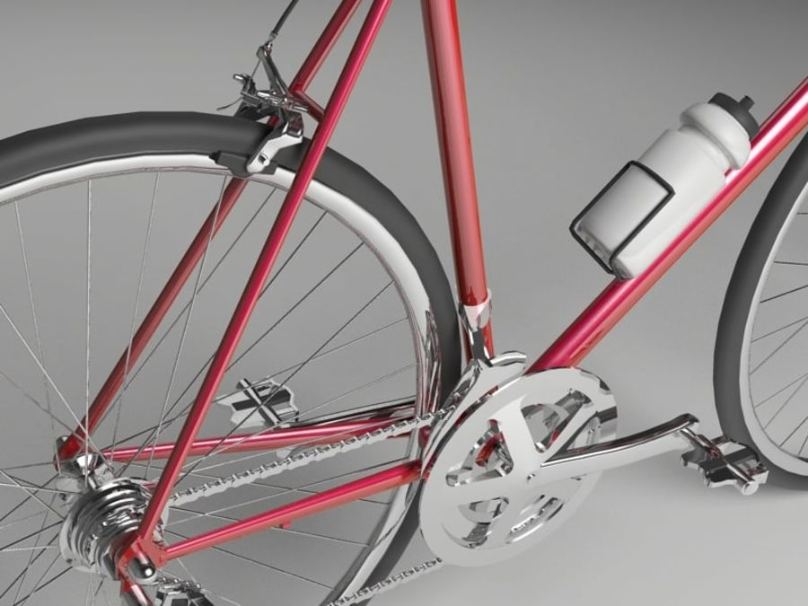Racing Bicycle royalty-free 3d model - Preview no. 6