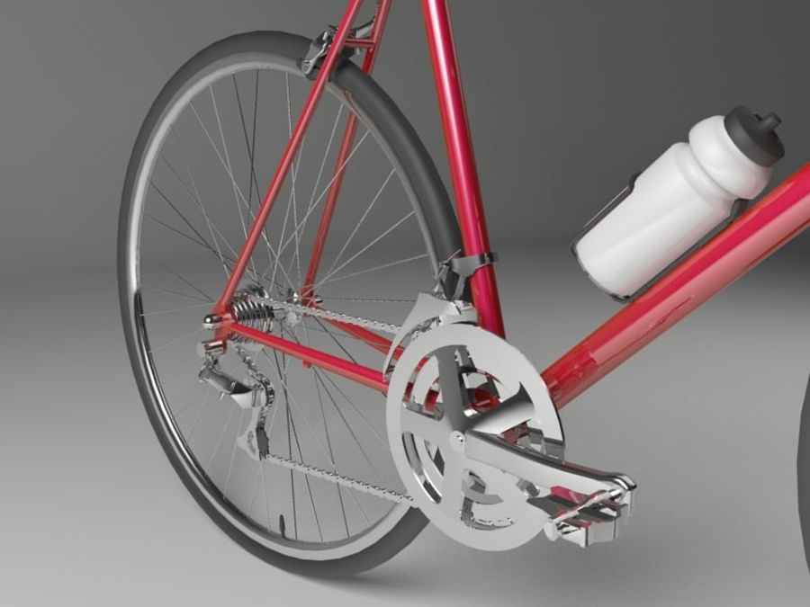 Racing Bicycle royalty-free 3d model - Preview no. 4