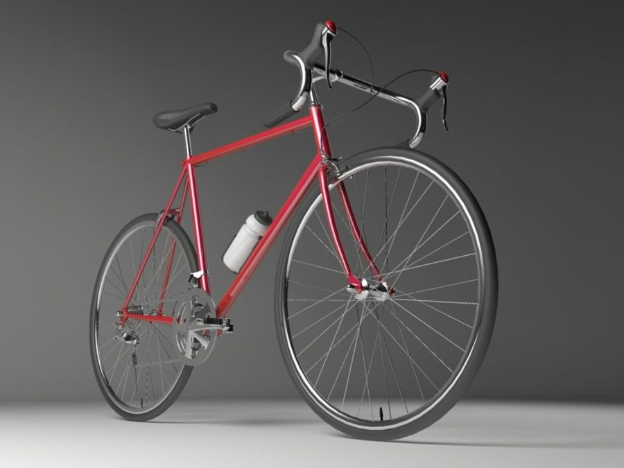 Racing Bicycle royalty-free 3d model - Preview no. 7