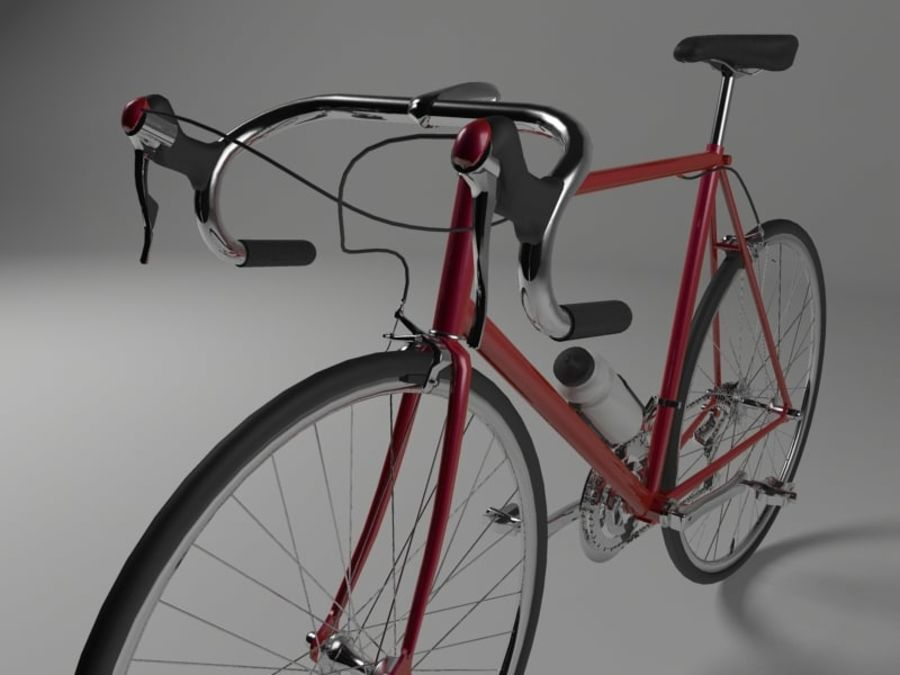 Racing Bicycle royalty-free 3d model - Preview no. 3
