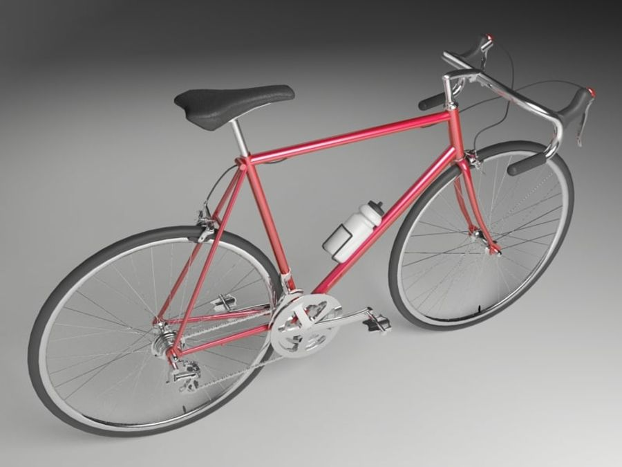 Racing Bicycle royalty-free 3d model - Preview no. 5