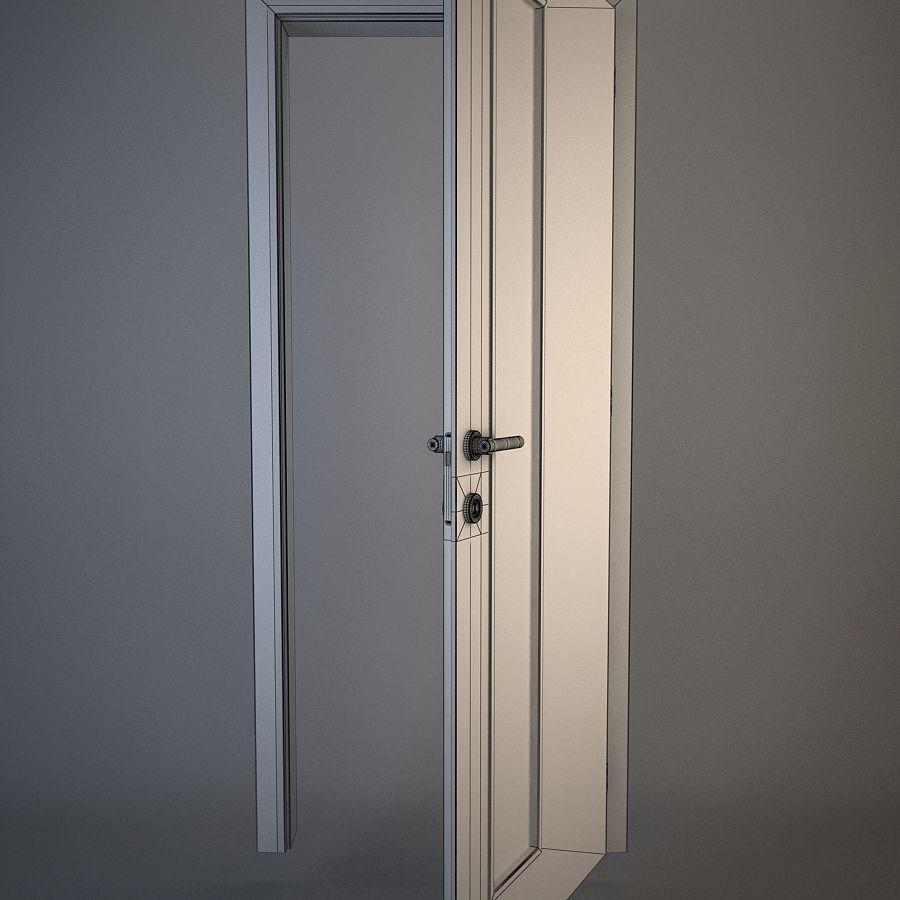 Door 02 royalty-free 3d model - Preview no. 3