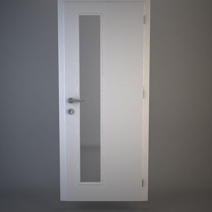 Door 02 royalty-free 3d model - Preview no. 1