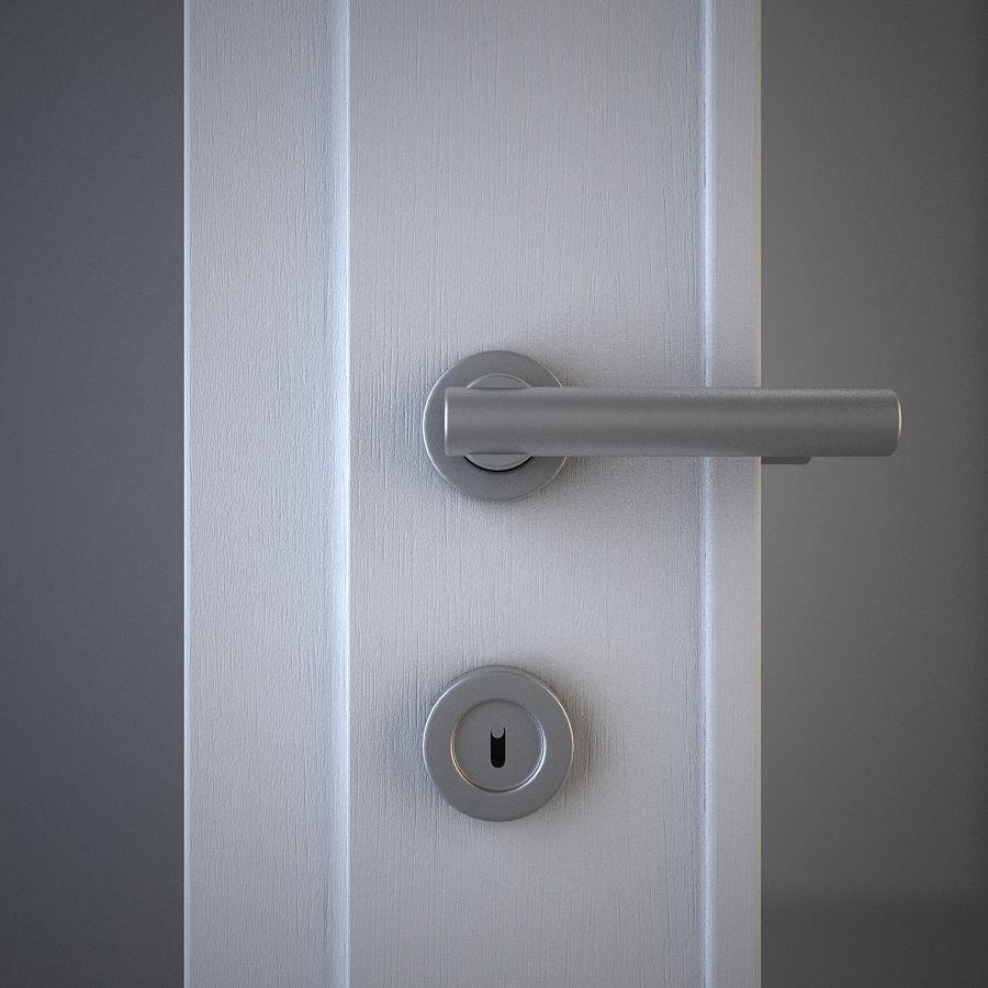 Door 02 royalty-free 3d model - Preview no. 2