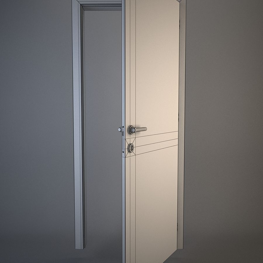 Door royalty-free 3d model - Preview no. 4