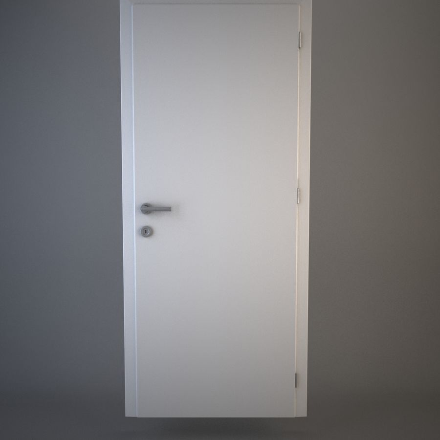 Door royalty-free 3d model - Preview no. 1