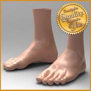 Menschliche männliche Füße 3d model